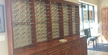 Store Page - Auburn - Glasses Showcase
