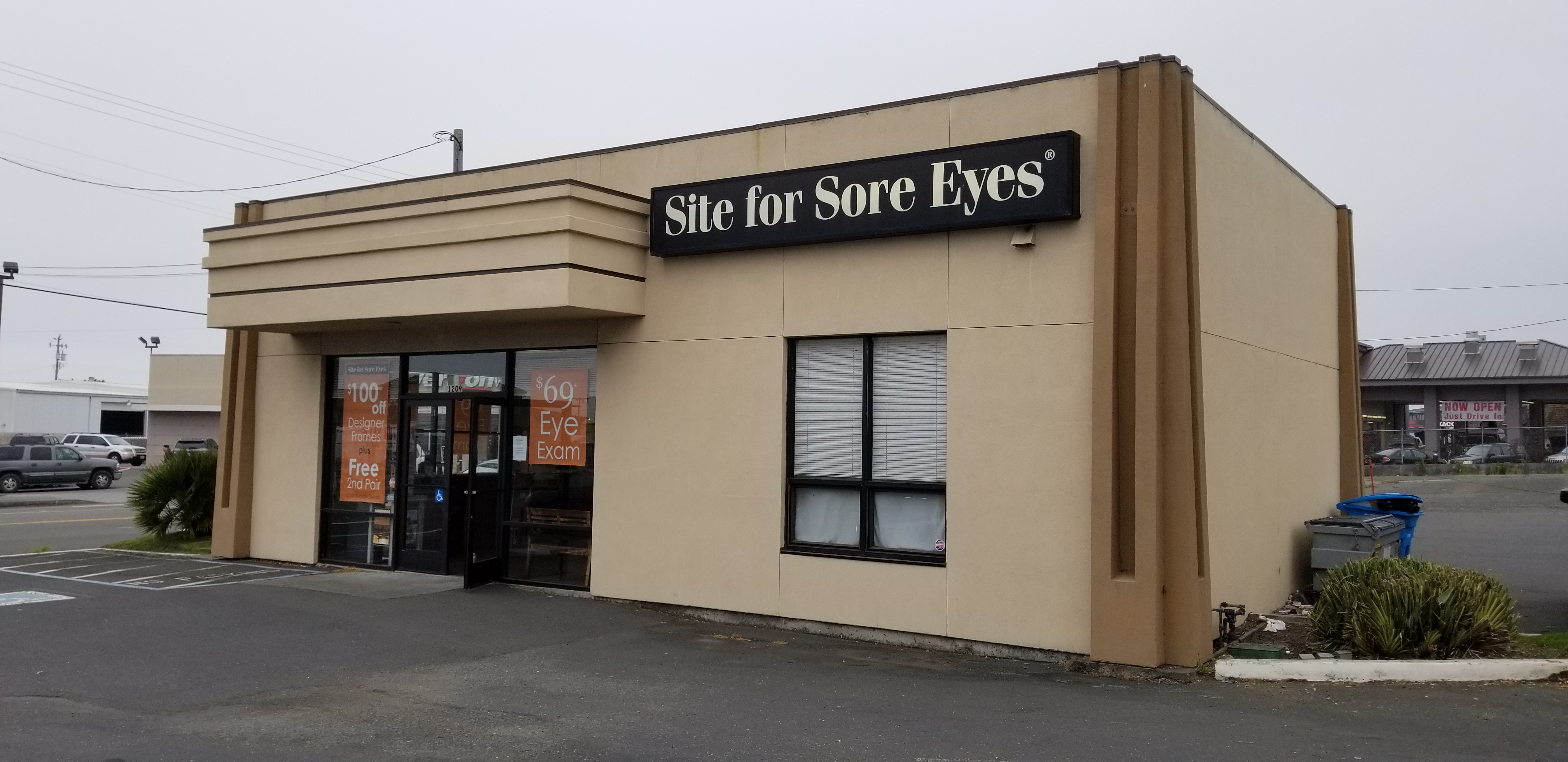 Site for Sore Eyes Eureka