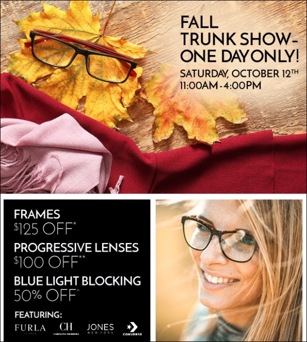 Site for Sore Eyes San Leandro Fall Trunk Show October 12 11am to 4pm