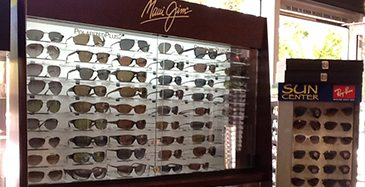 Store Page - Mt View - Glasses Showcase