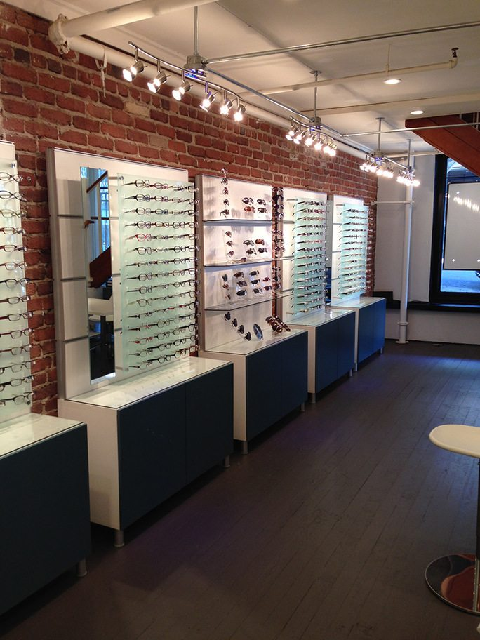 Store Page - Fillmore - Glasses Showcase